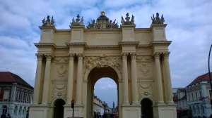 Frederick's Brandenburg gate, Potsdam. You can still hear the stomp of his grenadiers...