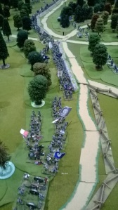 ACW action...it was a gallant Federal commander who would take this lot on