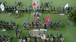 Caswell's militia couldn't be expected to hold but would soak up British artillery fire.