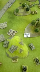 Hysterically my Pershings ambush Armoured cars and forest dwelling SS men!