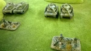 Pz IV swarm attack on Left