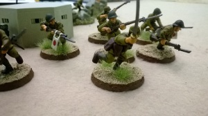 It wasn't that James' troops were better painted than mine....