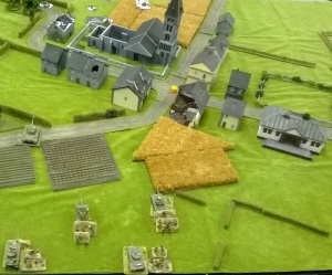 Game One- counter-attack. Can you spot where the arrow is pointing?