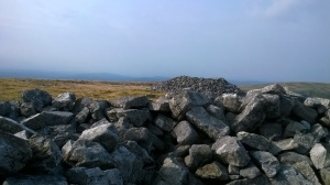 The Chartist revolutionaries damaged this cairn holding their clandestine meetings.