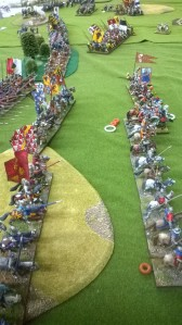 The Italian Wars in 28mm highly commended!